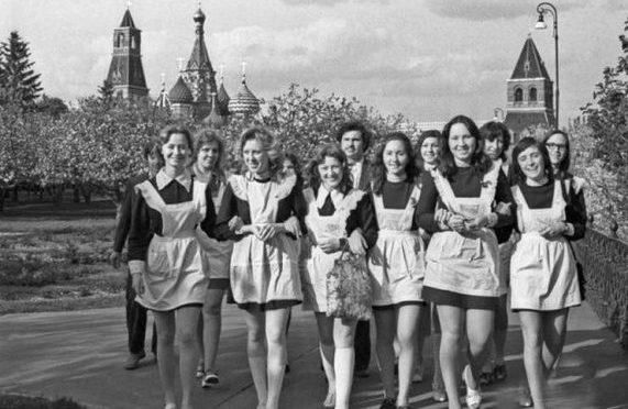 Эксперимент над школьницами СССР