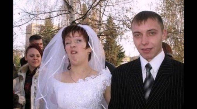 50 прикольных свадебных фото